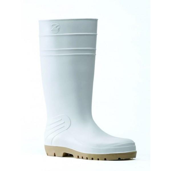 Bottes  blanches Baudou Agro 4000 - bottes pour laiterie - Bottes synthétiques BAUDOU - CHAUSSURES ROBUST - Voir en grand