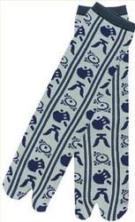 gris et symboles bleus - Voir en grand