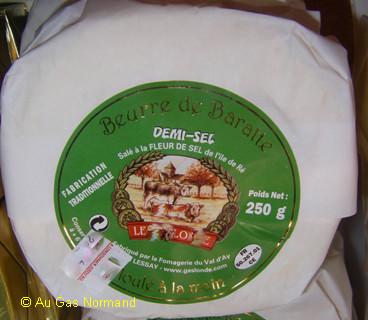 Beurre salé - Voir en grand