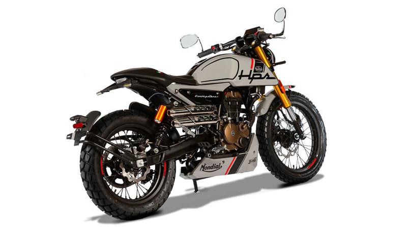 MONDIAL 125 HIPSTER ANGEL'S MOTOS DIJON CHENOVE - Voir en grand