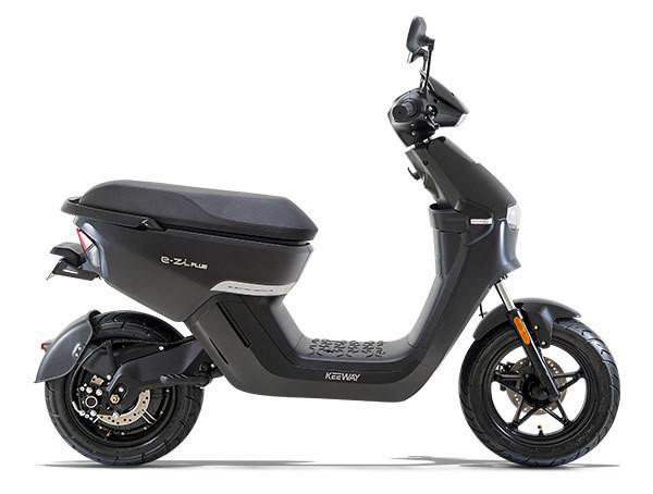 SCOOTER ELECTRIQUE E-ZI Plus KEEWAY ANGEL'S MOTOS DIJON 21 - Voir en grand