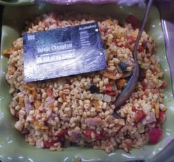 Salade champêtre au blé et au poulet - Entrées froides - LA PETITE LOUISETTE - Voir en grand