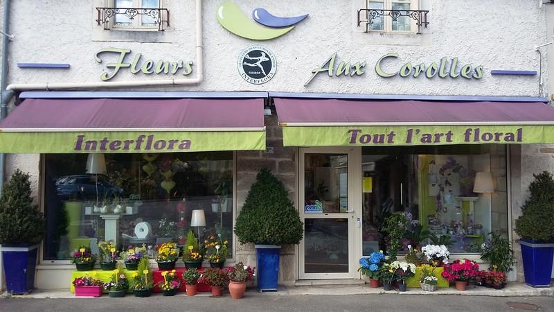 aux corolles fleuriste is sur tille union commerciale par 39 is. Black Bedroom Furniture Sets. Home Design Ideas
