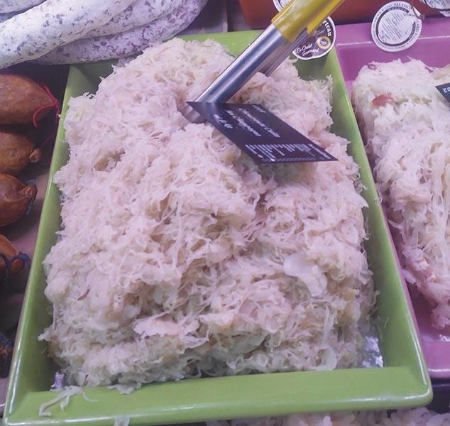 Choucroute cuite au Champagne  - Produits de choucroute - LA PETITE LOUISETTE - Voir en grand