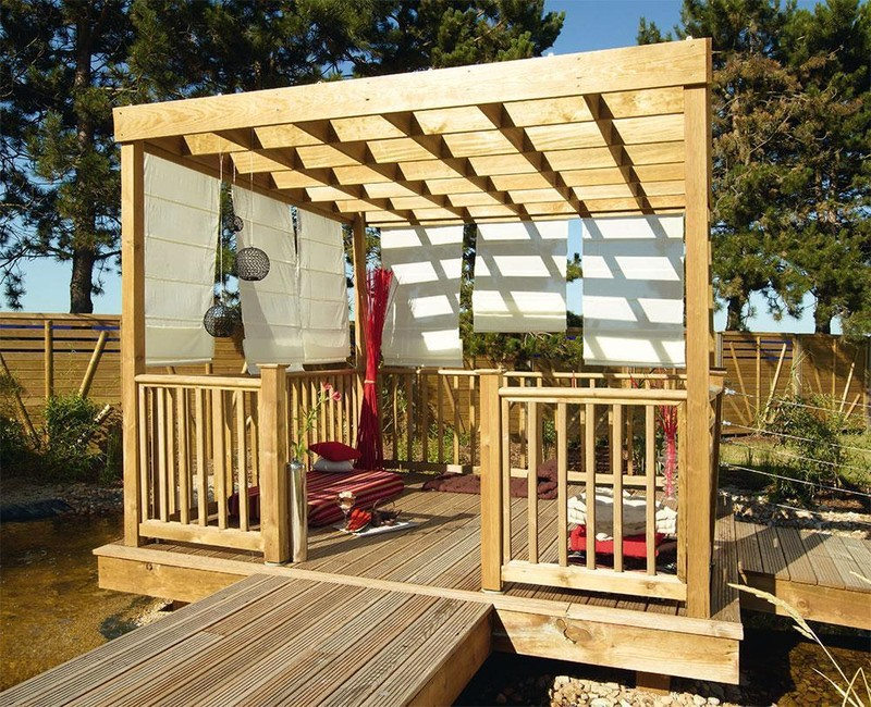 pergola en bois esterel tarif et prix b a bois. Black Bedroom Furniture Sets. Home Design Ideas