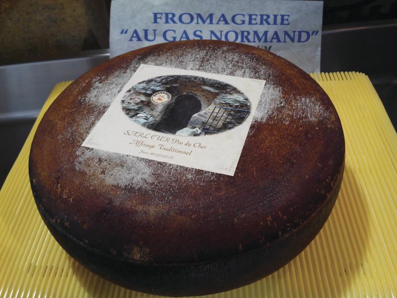 Tomme du Berry au lait de chèvre  - Centre - FROMAGERIE AU GAS NORMAND - DIJON - Voir en grand