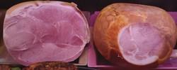Jambons cuits du Haut Doubs (nature et fumé) - Charcuterie cuite - LA PETITE LOUISETTE - Voir en grand