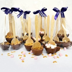 Cuillères 'Chocolat Chaud' - Cadeaux Gourmands Mariage - La Grèce Gourmande