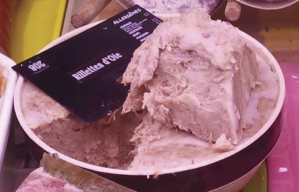 Rillettes d'oie - Charcuterie cuite - LA PETITE LOUISETTE - Voir en grand