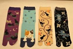 Chaussettes japonaises pour femmes  - Voir en grand