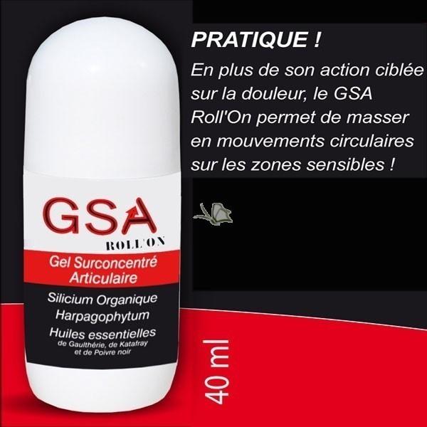 GSA ROLL ON - ARTICULATIONS  - MISS TERRE VERTE - Voir en grand