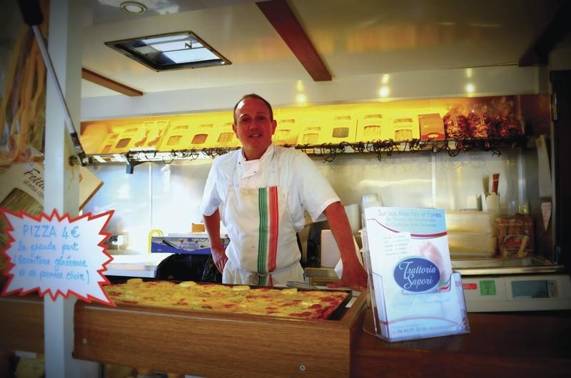 Trattoria Sapori Spécialités d'Italie - Traiteur & Epicerie  - Plats cuisinés / Condiments / Cuisine du monde - HALLES DE MONTBARD, votre marché alimentaire de proximité - Voir en grand