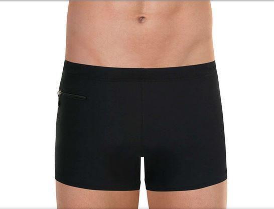eminence boxer de bain homme uni noir maillot - Voir en grand