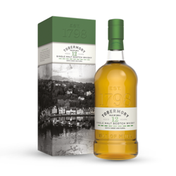 TOBERMORY 12 ANS 46°3 - ISLE DE MULL - WHISKIES AND SPIRITS - Voir en grand