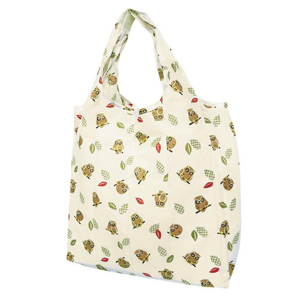 Eco-bag, sac de courses à motif japonais - chouettes - Comptoir du Japon.jpg - Voir en grand