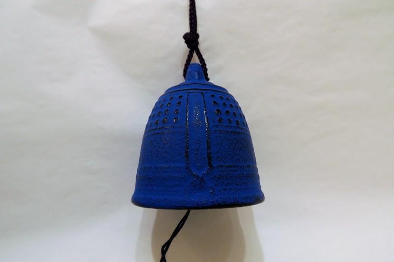 Grande cloche à vent bleue - Comptoir du Japon - Voir en grand
