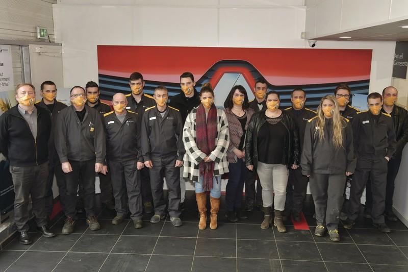L'équipe Renault SOCA en 2021 - Voir en grand