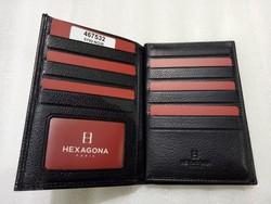 Portefeuille Hexagona 21cartes - Voir en grand