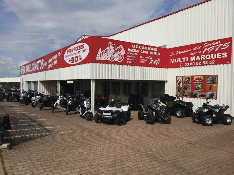 MAGASIN ANGEL'S MOTOS DIJON CHENOVE - Voir en grand