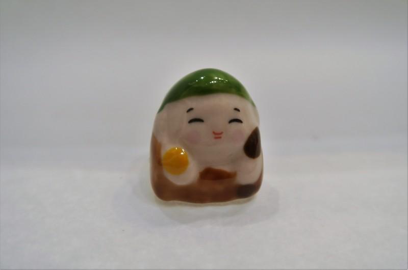 Mini 7 divinités du bonheur - Fukurokuju - Comptoir du Japon - Voir en grand