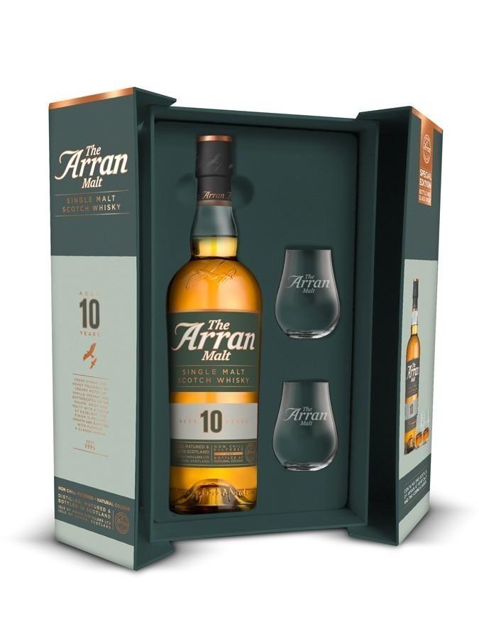 Arran 10 ans Whiskies & Spirit - Voir en grand