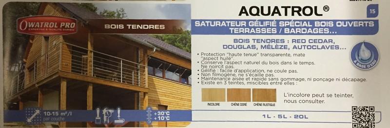 Owatrol Durieu aquatrol catalogue - Voir en grand