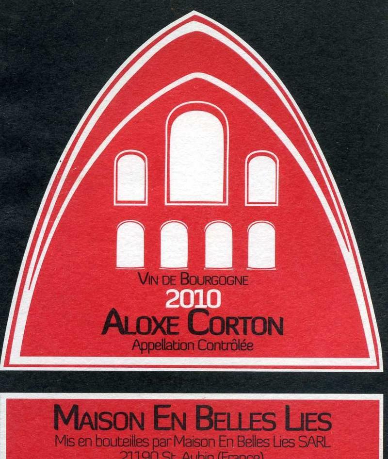 Aloxe-Corton - Vins de Bourgogne Rouges - Maison En Belles Lies - Voir en grand
