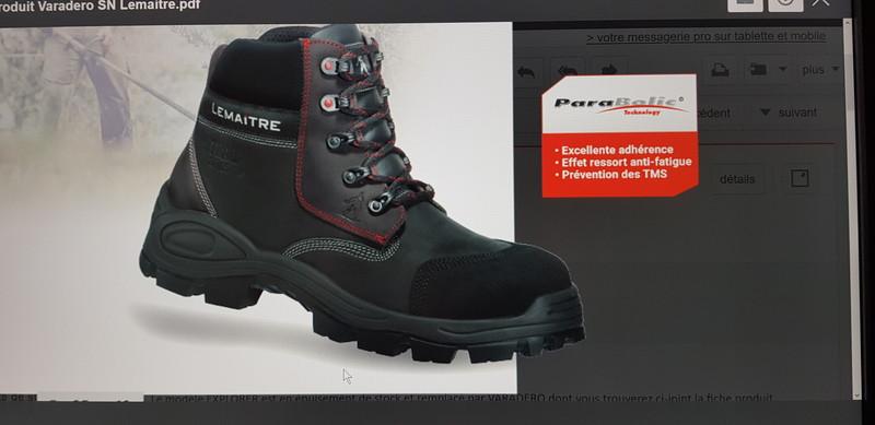 Chaussure de sécurité Lemaitre, modèle EXPLORER S3 - Lemaitre - CHAUSSURES ROBUST - Voir en grand