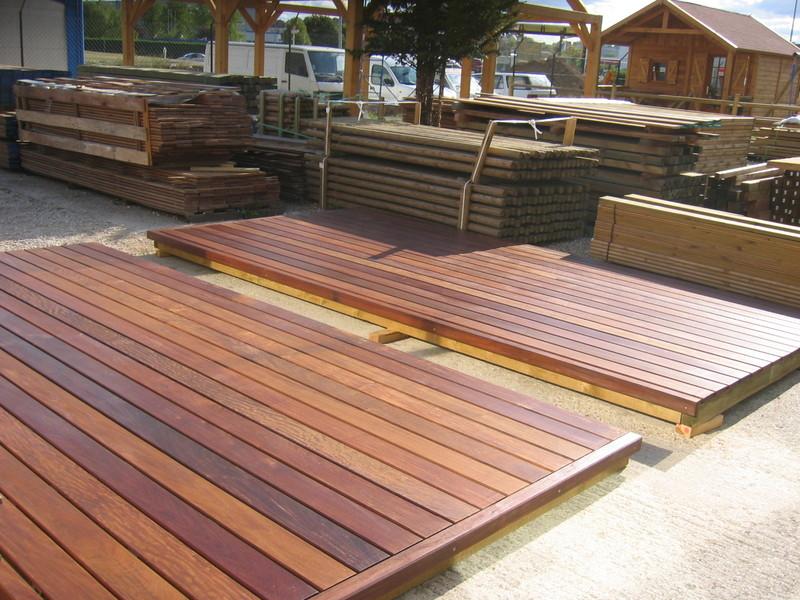 Lame ip pour terrasse ext rieur en bois exotique la for Parquet ipe exterieur