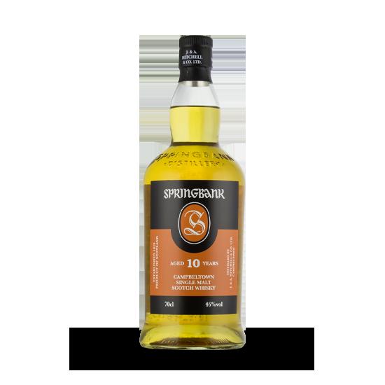Springbank 10 ans Whiskies & Spirits - Voir en grand
