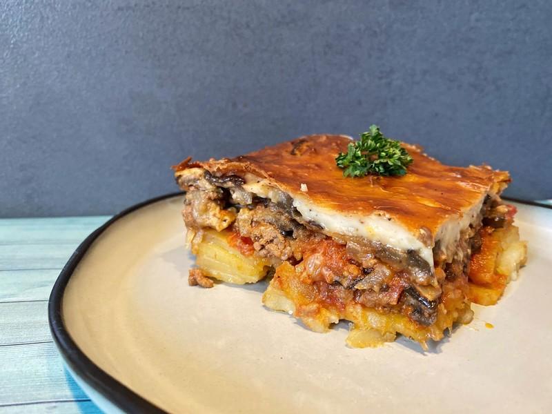 Moussaka Traditionnel Grec - Traiteur - La Grèce Gourmande - Voir en grand