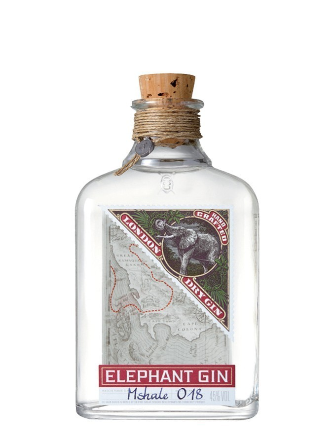 Elephant Gin Whiskies & Spirits - Voir en grand