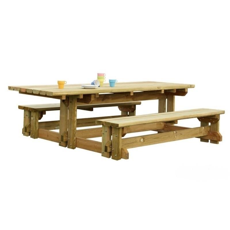 table forestiere personne a mobilite reduite - Voir en grand