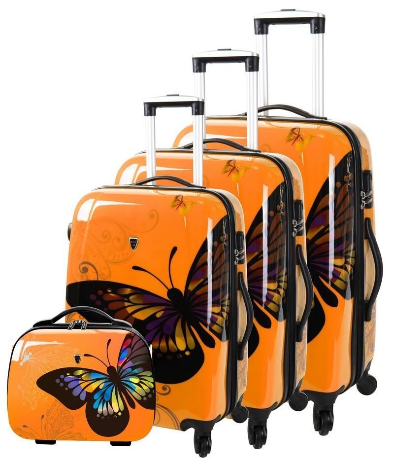 valise cabine papillons madisson le petit royaume. Black Bedroom Furniture Sets. Home Design Ideas