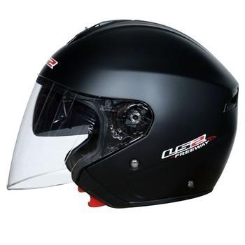 casque noir JET LS2 ANGEL'S MOTOS DIJON - Voir en grand