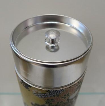 Boîte à thé (200 g) dorée - Comptoir du Japon - Voir en grand