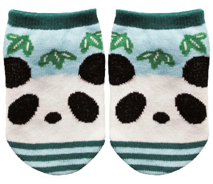 Chaussettes bébé panda - Voir en grand
