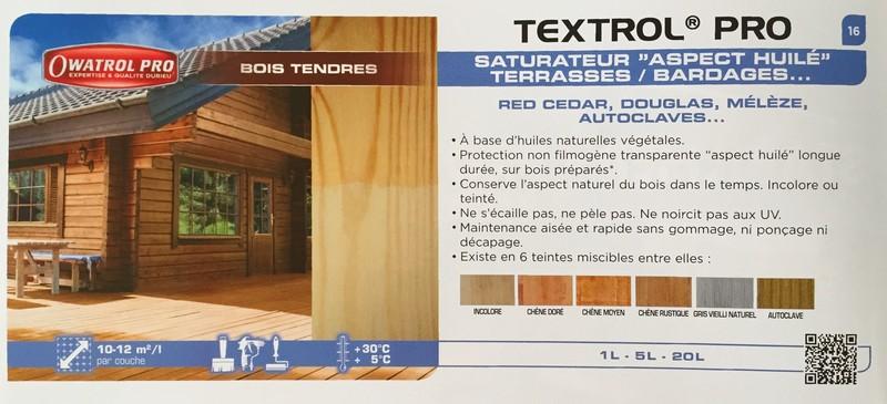Owatrol DURIEU SATURATEUR textrol catalogue - Voir en grand