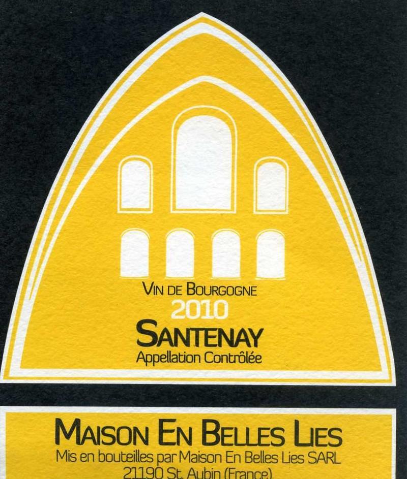 Santenay  - Vins de Bourgogne Blancs - Maison En Belles Lies - Voir en grand