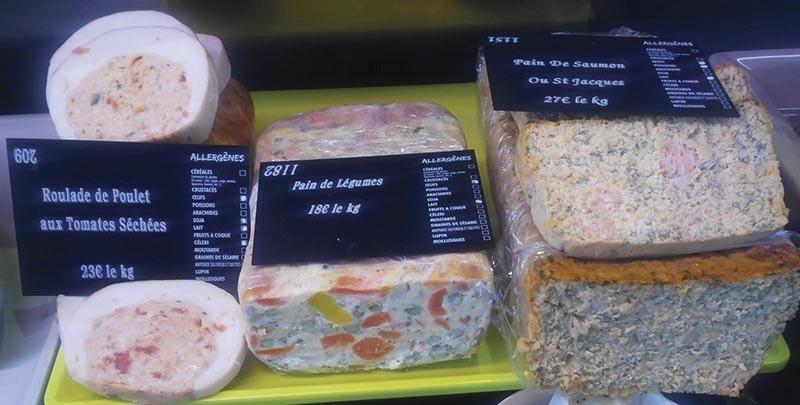 Pain de légumes - Pain au colin et saumon - Plats traiteur - LA PETITE LOUISETTE - Voir en grand