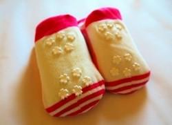 Chaussettes bébé antidérapant