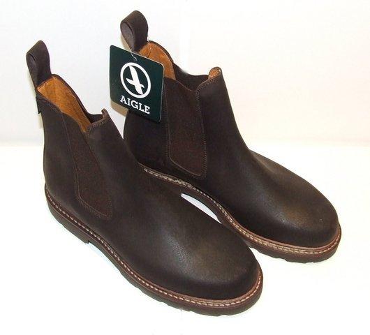 Boots Aigle, modèle QUERCY - Chaussures de ville homme - CHAUSSURES ROBUST - Voir en grand