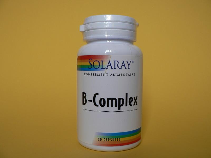 B-COMPLEX 50 SOLARAY - CHEVEUX - MISS TERRE VERTE - Voir en grand