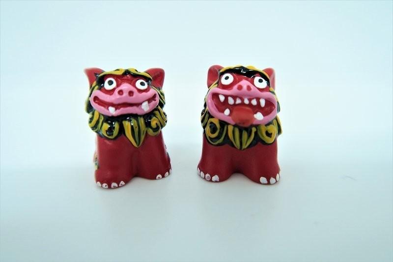 micro shisa rouge  - Compotoir du Japon - Voir en grand