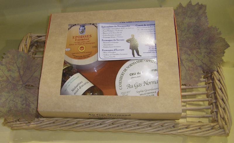 Cheese Box - Exclusivité Au Gas Normand - FROMAGERIE AU GAS NORMAND - DIJON - Voir en grand