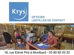 KRYS Optique Montbard - Optique - UCAM UNION COMMERCIALE DE MONTBARD - Voir en grand