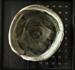 Bol à matcha cérémonie du thé brun rose