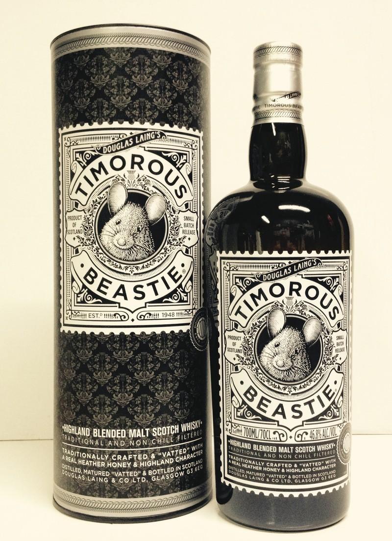 Timorous beastie Whiskies & Spirits - Voir en grand