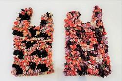 """Eco bag ou sac d'appoint """"magique"""" shibori, motifs japonais - Comptoir du Japon"""
