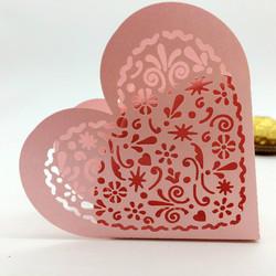 boîte dragées ajourée rose - Voir en grand